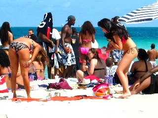 Superfine Latina Bikini Goddesses in the Crowd #2 - © 2012 Jimmy Rocker Photography