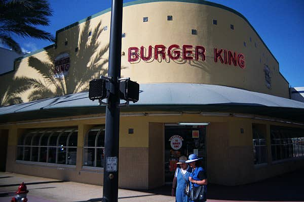 Vintage Deco Burger King - © 2001 Jimmy Rocker Photography