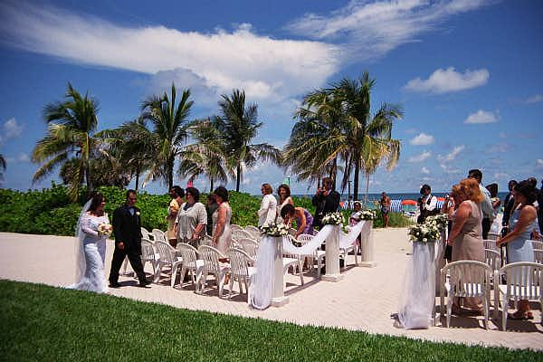 Ocean Wedding - © 2000 Jimmy Rocker Photography